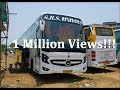 1 Million Views!! Mercedes Benz 15M Bus of SRS Travels! One of the Asia's Longest Bus!!