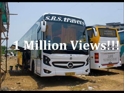 Mercedes Benz 15M Bus of SRS Travels! One of the Asia