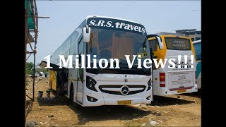 Download Video 1 Million Views!! Mercedes Benz 15M Bus of SRS Travels! One of the Asia's Longest Bus!! MP3 3GP MP4
