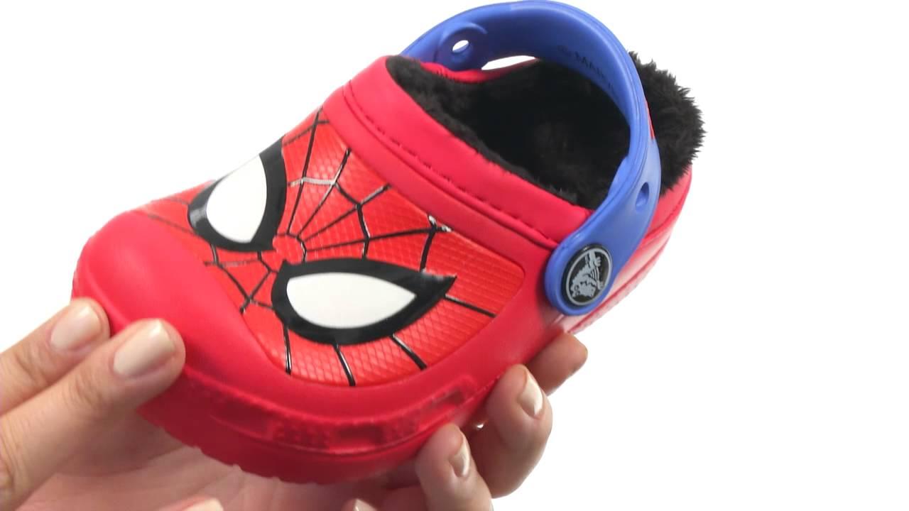 Crocs Kids Spiderman Lined Clog