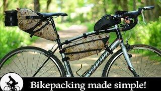 Bikepacking made simple!  (RECORD BREAKING GEAR SETUP)
