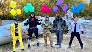 Download Airsoft Battle Royale | Dude Perfect Mp3 and Videos