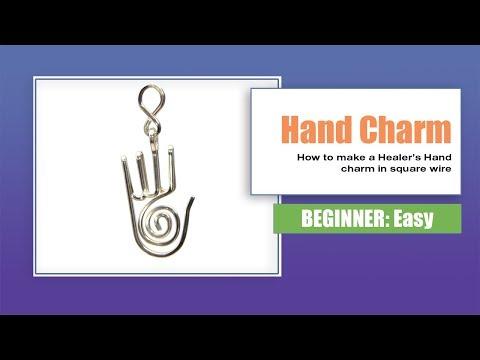 Hand Charm Tutorial - Healer's Hand Charm - Shaman's Hand Charm
