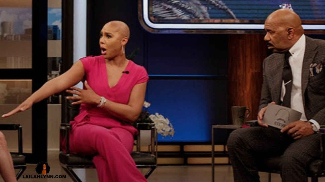 Tamar Blames Her Mother For Her Rudeness On Steve Harvey's Talk Show