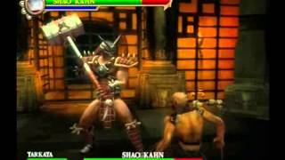 MKSM Shao Kahn Gameplay 2 HQ
