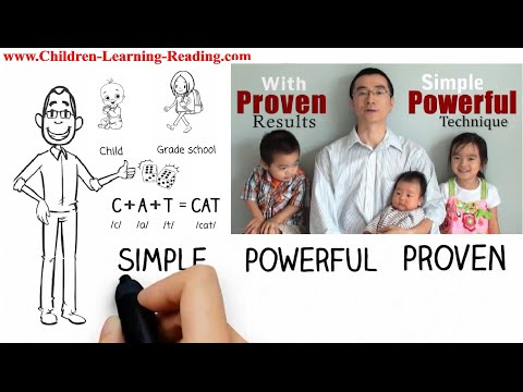 How to Teach Your Child to Read English Fast & Fluent, Best English Phonics Reading Methods For Kids