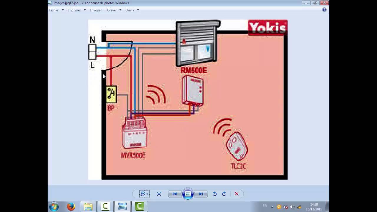Rideaux electrique avec telecommande youtube for Rideau electrique garage