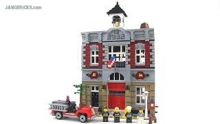 LEGO Fire Brigade 10197 modular building Review!