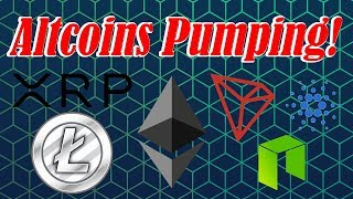 🔴 Crypto Live : ETH, XRP, ADA, LTC, Altcoins Pumping!  Ep. 679 - Technical Analysis