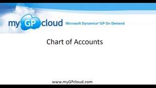 Dynamics GP Chart of Accounts on myGPcloud
