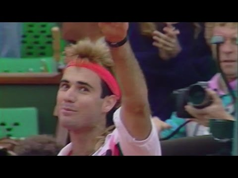 Andre Agassi and Lavazza @ US Open 2016 –  ImBack
