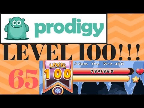LEVEL 100!!!! Prodigy Math Game-Episode 65-Road to level 100, Part 4!!!