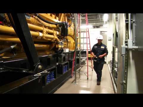 Cat® Diesel Generator Sets Supply Emergency Power to World's Tallest Data Center