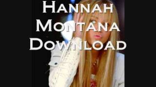 Hannah Montana All Songs DOWNLOAD
