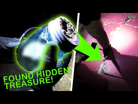Thumbnail: WE FOUND REAL TREASURE INSIDE!! ABANDONED BUILDING IN THE MIDDLE OF NOWHERE!