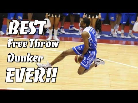 BEST Free Throw Line Dunker Of ALL TIME!!! James White!