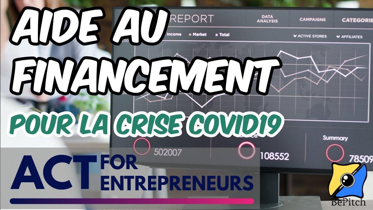 Act for entrepreneurs, pour aider les sociétés après la crise covid19