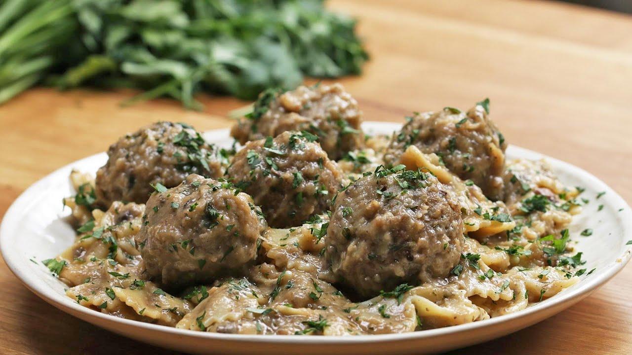 "maxresdefault - One-Pot Vegan Swedish ""Meatballs"""