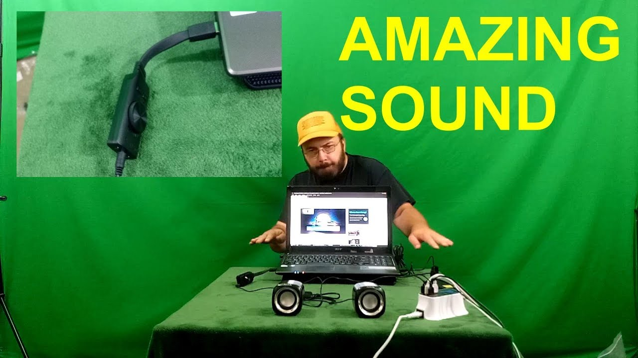 Black PS4 3.5mm Headset Headphone PC Laptop Desktop Windows Mac OS Linux Plug /& Play, KEKU Virtual 7.1-Channel USB Sound Card Adapter External 2.0 Audio Stereo Sound Card Converter