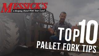 Pallet Forks - Tips, Tricks & Modifications