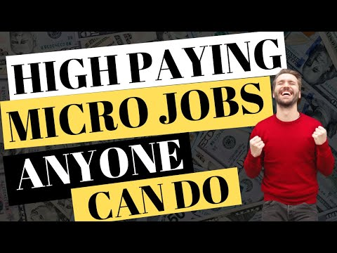 MAKE MONEY DOING MICRO JOBS – 4 HIGHEST PAYING SITES