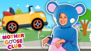 Driving in My Car with Eep the Mouse + More | Mother Goose Club Nursery Rhymes
