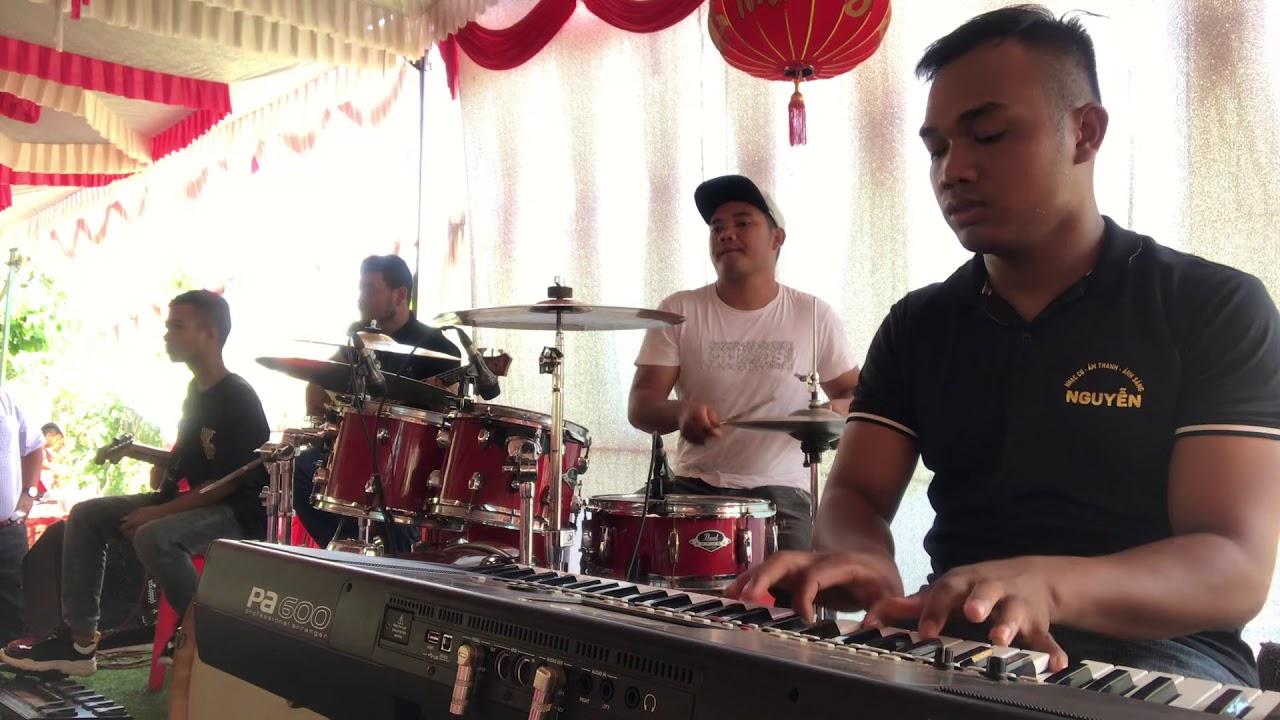 Hoà tấu band tha ly - JON NIE keyboard