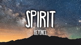 Gambar cover Beyoncé - Spirit (Lyrics) [The Lion King]