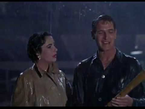 """Download Scene from """"A cat on a hot tin roof"""" - 1958"""