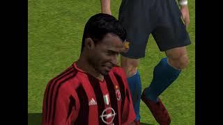 FIFA Football 2005 - 2004 - A.C. Milan  VS  FC Barcelona (PC)