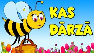 Kas Dārzā | Bērnu Dziesmas | Latvian Folk Songs | Латышские детские песни