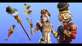 Fortnite New skins. Crackabella,Crackshot is back - Snow Globe pickaxe