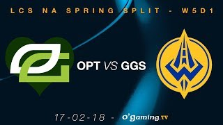 Video 💚OpTic Gaming💚 vs Golden Guardians - LCS NA Spring Split 2018 - Week 5 Day 1 - League of Legends download MP3, 3GP, MP4, WEBM, AVI, FLV Juni 2018