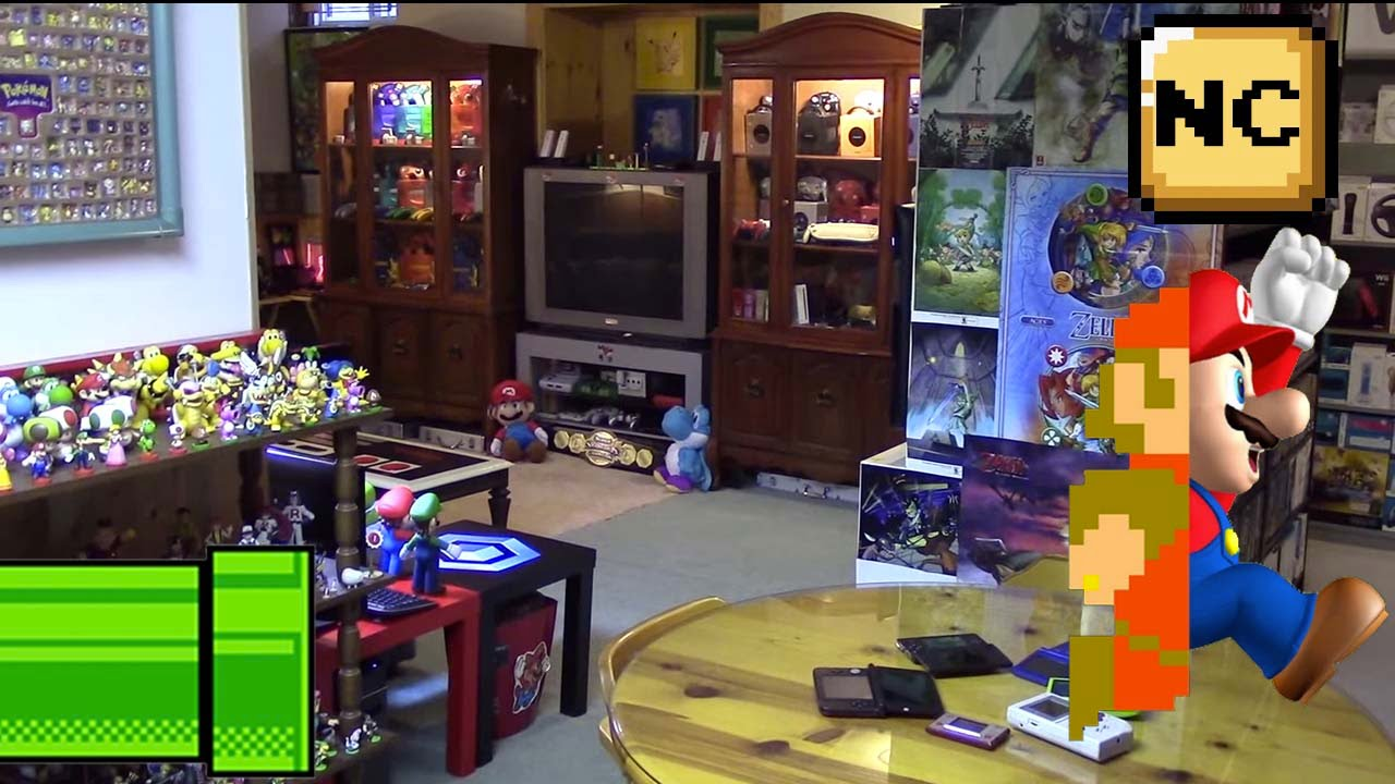 THE Nintendo Room Tour 2015