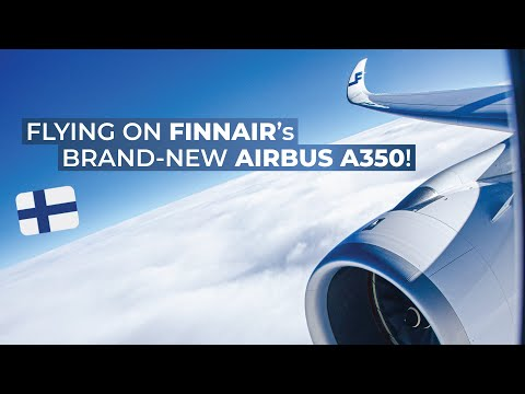 TRIPREPORT | Finnair (Economy and Business Class) | Vienna - Helsinki | Airbus A350-900