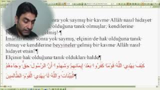 Al-i İmran suresi 86 (Doç. Dr. Halis AYDEMİR)