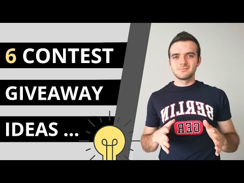 6 Social Media Contest Giveaway Ideas: More Brand Awareness