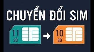 Chính thức chuyển đổi SIM 11 số thành 10 số từ Bộ TT & TT
