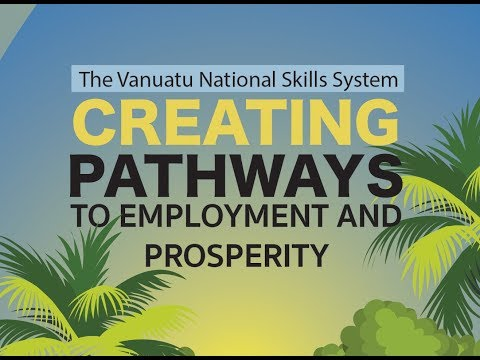 The Vanuatu National Skills System - Creating Pathways To Employment & Prosperity