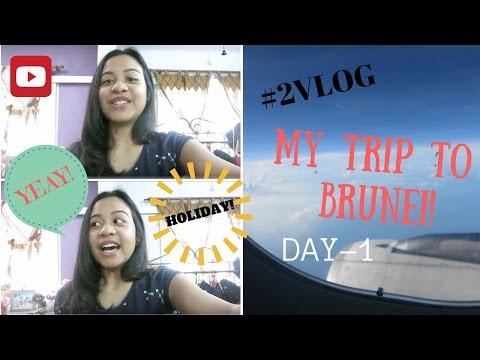 #2VLOG Trip to Brunei! Day 1!
