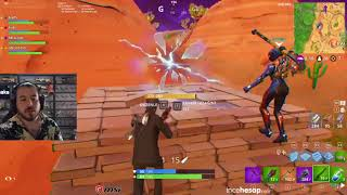 UNLOST AS A SCRIPT AND FORTNITE PLAYING WITH THE TEAM