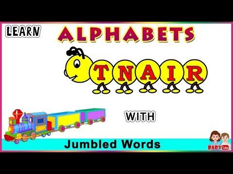 Jumbled Words for Kids Part # 02 | Learn Alphabet | Scrambled Words for Children