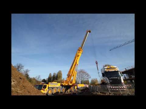 Northampton Waterside Campus Footbridge Installation (Part 1)