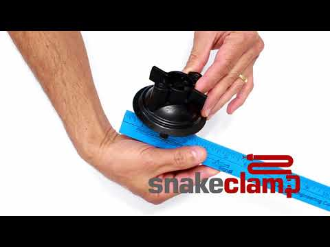 Suction Cup Mounting Options for your SnakeClamp Flexible Gooseneck Tube Arm