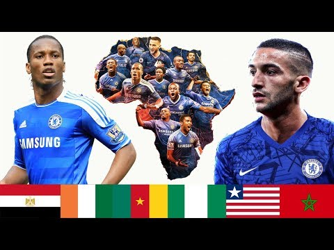 All The African Players Who Played For Chelsea I Drogba Salah Ziyech Youtube