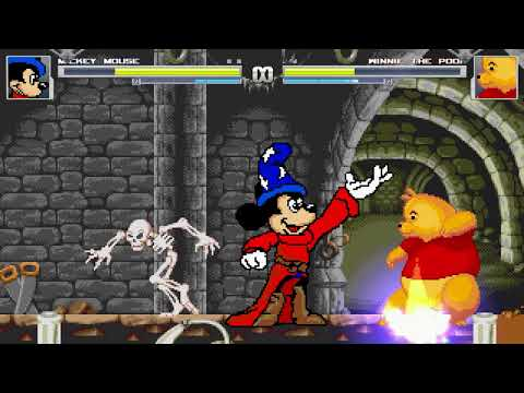 AN Mugen #169: Mickey Mouse VS Winnie The Pooh