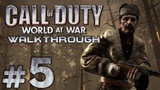 Прохождение Call of Duty 5: World at War — Миссия №5: ИХ ЗЕМЛЯ, ИХ КРОВЬ...