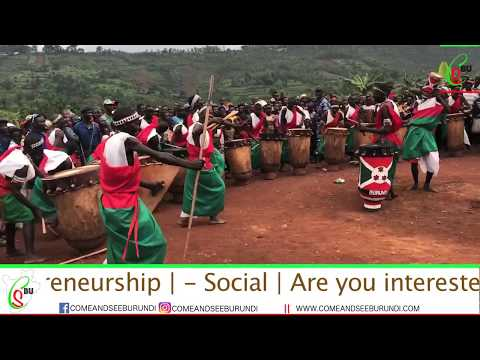 The world's No1 Burundi Drumming Group; Abahebera bo Mugishora | CSBU