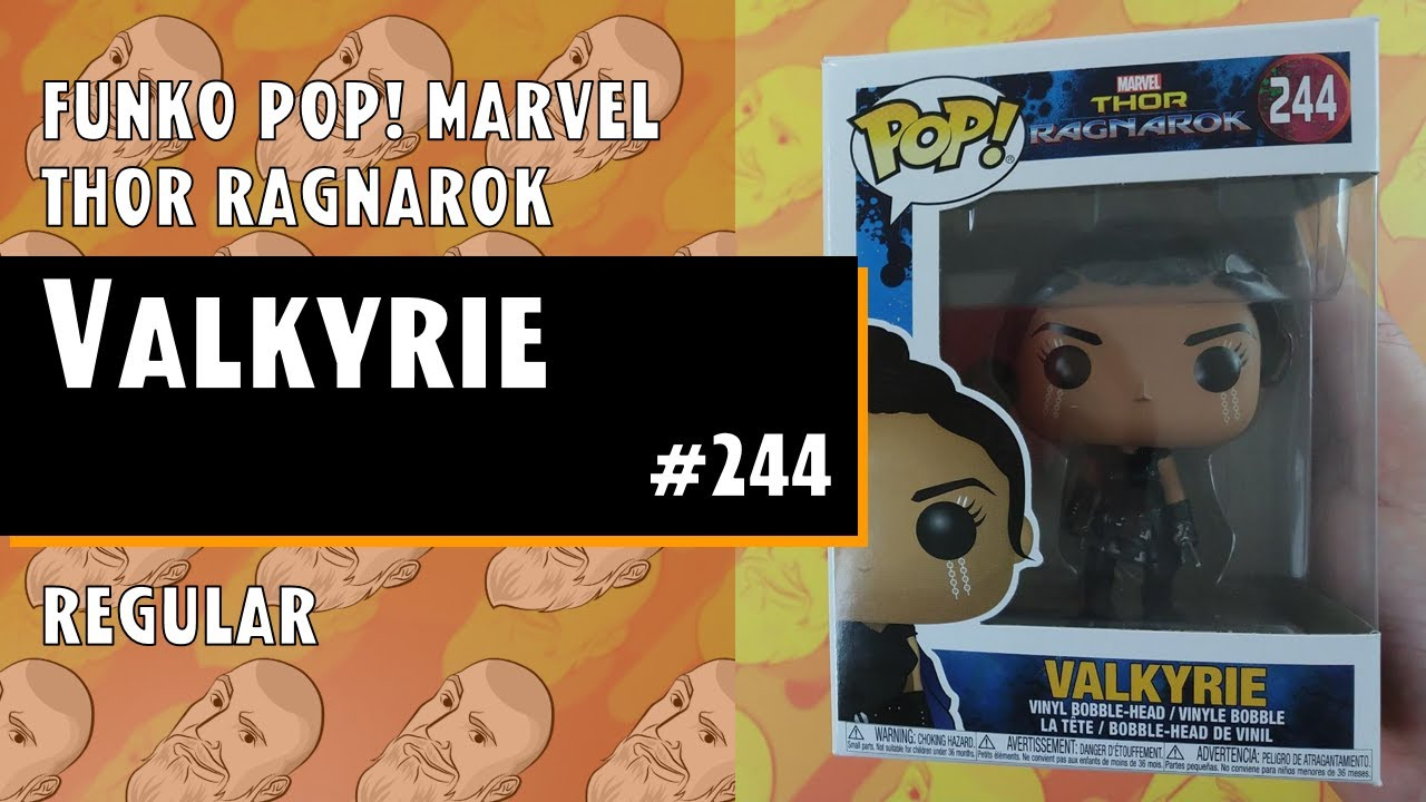 Funko Pop Marvel Thor Ragnarok Valkyrie 244 Just One Pop Showcase Youtube