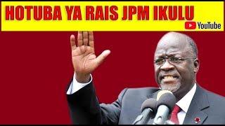 LIVE: Rais Magufuli atoa Hotuba mbele ya Viongozi wa Dini